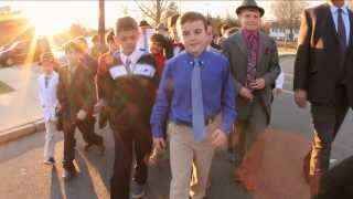 [Pee Wee Football Team Stands Up For A Friend] Video
