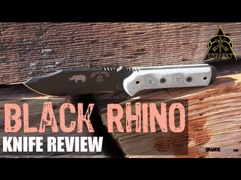 TOPS Black Rhino Survival Knife Review | OsoGrandeKnives