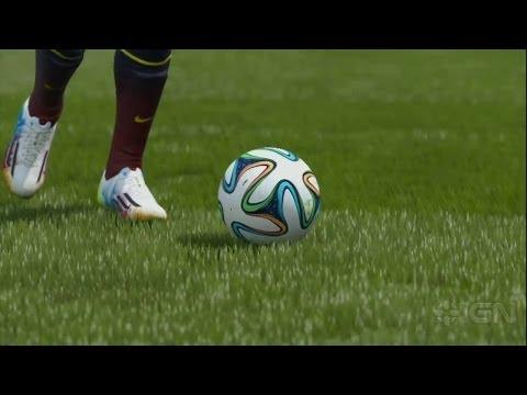 FIFA 15 Видео анализа геймплея демо FIFA 15 на E3 2014
