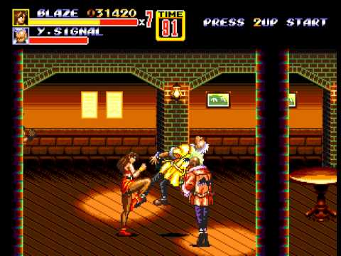 Streets of Rage 2 - Vizzed.com Play - User video