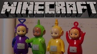 Teletubbies And Minecraft, We Make The Red Teletubby Po In