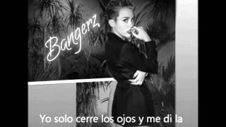 Miley Cyrus Wrecking Ball (subtitulada En Español)