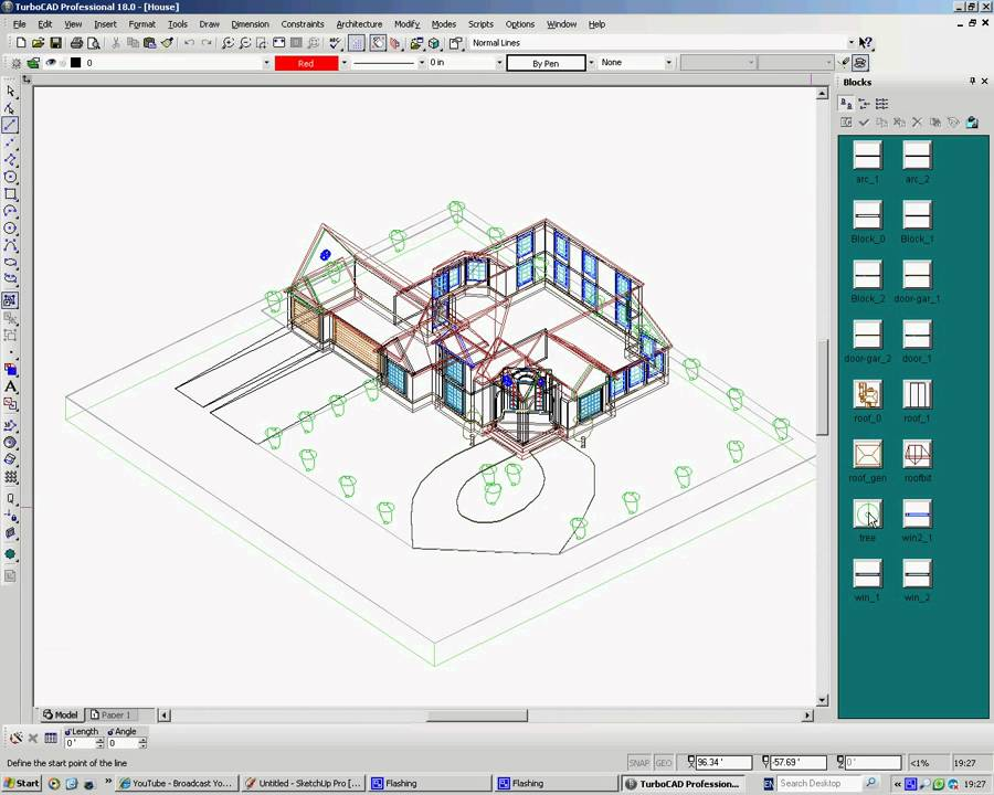 turbocad templates free - importing google sketchup 3d warehouse objects into