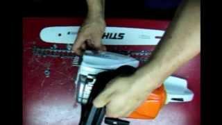 Como arrancar una motosierra