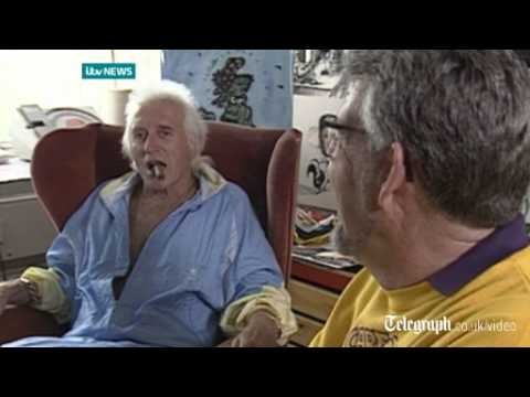 Rolf Harris and Jimmy Savile joke about their friendship