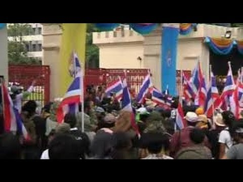 กำนันสุเทพ Thailand Protests ELECTION STRIFE
