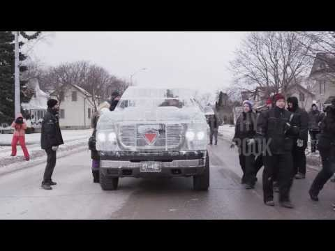 World Record Drive Attempt by the Canadian Tire Ice Truck (Winter 2013