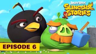 Angry Birds Slingshot stories - 6 - Popcorn