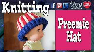Loom Knit A Preemie Hat Start TO Finish Tutorial Knifty
