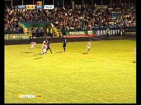 Черноморец-Арсенал - 3:0_голы+моменты