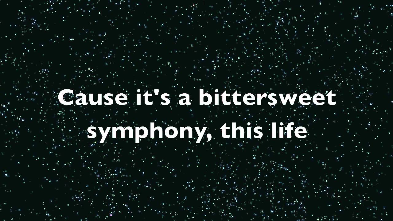 Letras de canciones de The Verve Bittersweet Symphony
