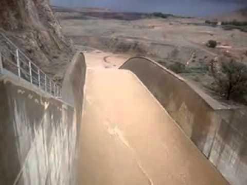 سد يوسف بن تاشفين بإقليم تيزنيت يمتلأ عن اخره ( 29 نونبر 2014 )