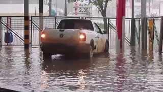 Desespero ao chover em Porto Velho -