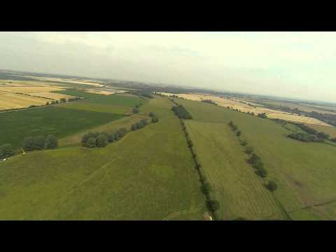 QUAD COPTER CAMERA GIMBAL TEST WHILE FLYING FPV