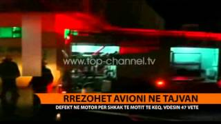 Rrzohet avioni n Tajvan  Top Channel Albania  News  L