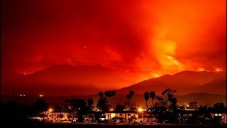 incendios en los angeles california  destruye mas de 4000 hectareas (Santa Rosa)(Sonoma) 9/10/2017