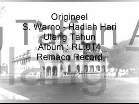 Origineel S. Warno - Hadiah Hari Ulang Tahun