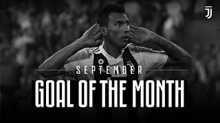 Juventus Goal of the Month | September 2018