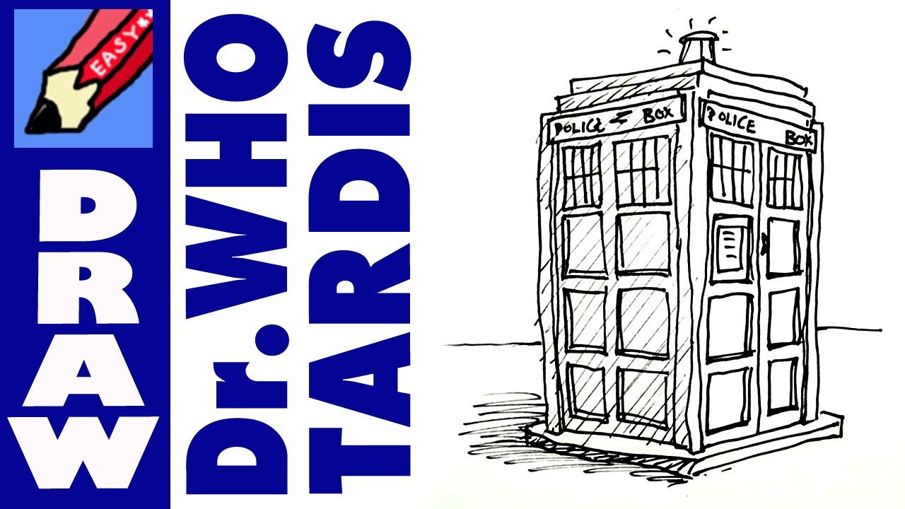 maxresdefault jpgHow To Draw The Tardis Easy