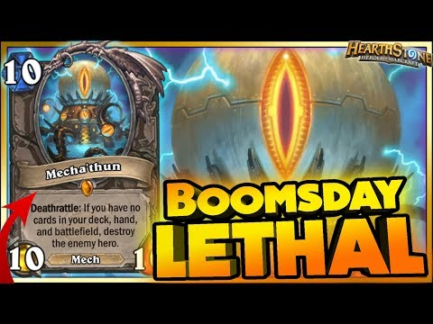 BOOMSDAY LETHAL!! WTF Moments - Hearthstone Daily Funny Rng Moments