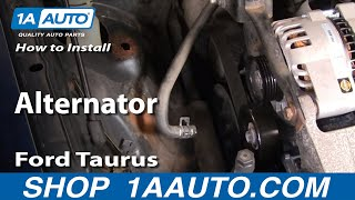 How To Install Replace Alternator Ford Taurus V63.0L 00-07
