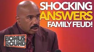 5 SHOCKING ANSWERS ON Family Feud USA! Bonus Round