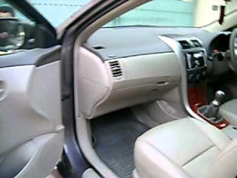 Corolla 2o.D Saloon 2010 For Sale.AVI