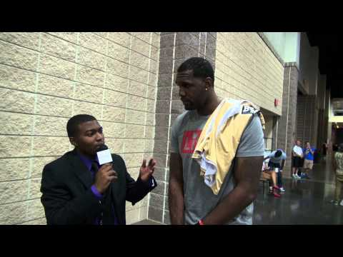 Interview with Miami Heat C Greg Oden