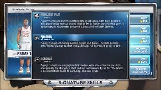 Nba 2k14 Best Signature Skills Needed