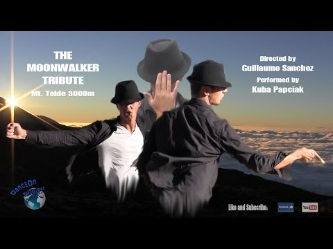 Michael Jackson - The Moonwalker Dance Tribute - Mount Teide (Alt. 3000 mtrs)