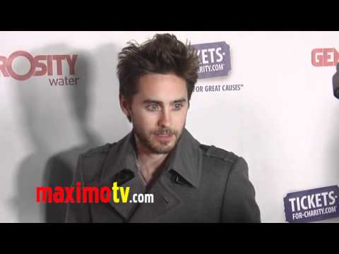 "JARED LETO at ""Night of Generosity"" 2011"