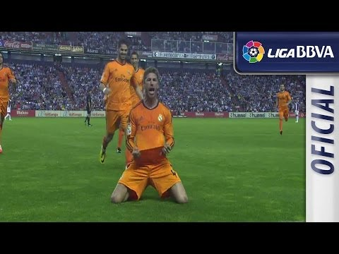 Great free-kick goal of Ramos (0-1) Valladolid - Real Madrid
