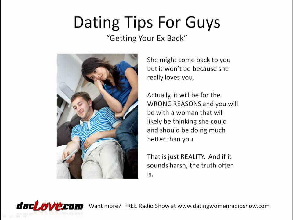 Dating site advice for guys