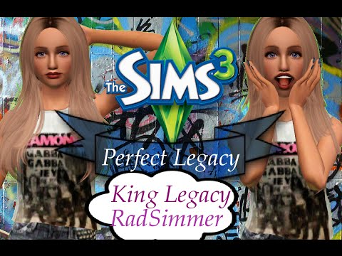 Sims 3 : Perfect Legacy Challenge (Part 2) Dating Scene