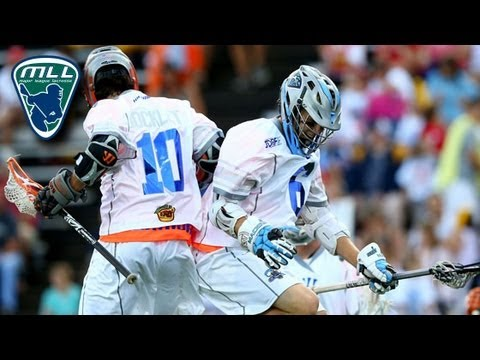 2013 MLL All-Star Game Highlights