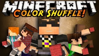 Minecraft Mini-Game : COLOR SHUFFLE!