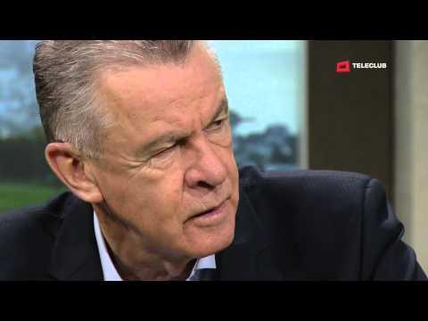 Pietro Sassi liest das Gesicht von Ottmar Hitzfeld