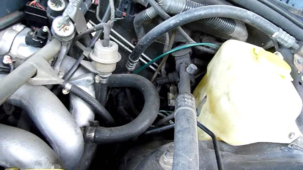1993 Ford Fairmont Eb Bad Idle Fix Throttle Body And Iac