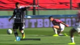 Gol Sosa. Estudiantes BA 1- Instituto 0. Copa Argentina 2014. 8vos. .