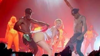 [VIDEO]: Miley Cyrus Golpea La Bandera Mexicana Con Su