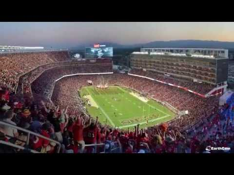 Official San Francisco 49ers Levi's Stadium construction time-Lapse
