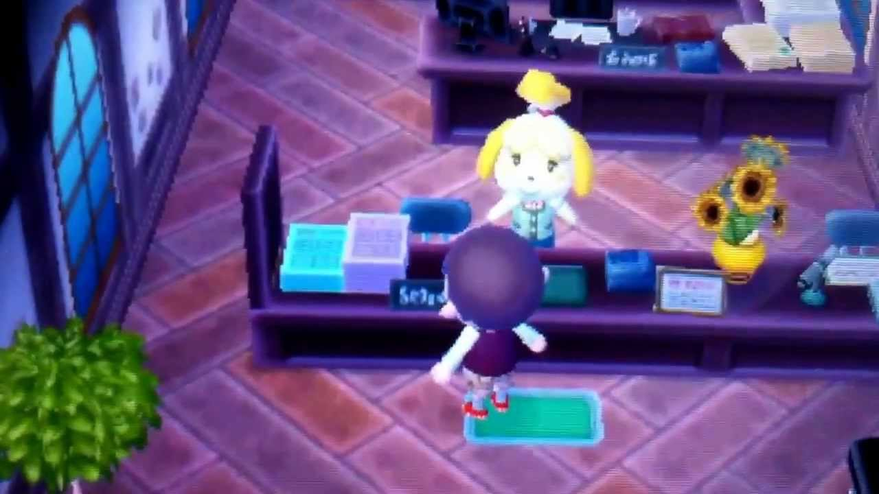 - Animal crossing new leaf salon de detente ...