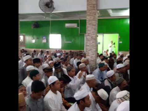 Kegiatan pengajian Akbar dengan Syekh Ali Jaber