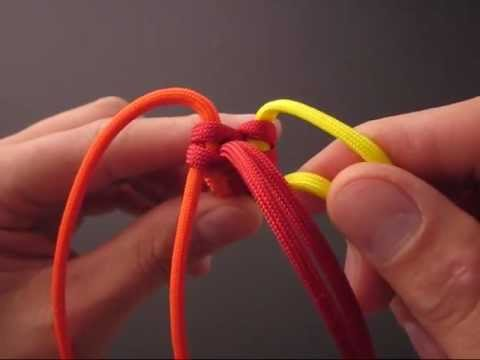 How to Make a Paracord Firecracker Sinnet (Key Fob) by TIAT