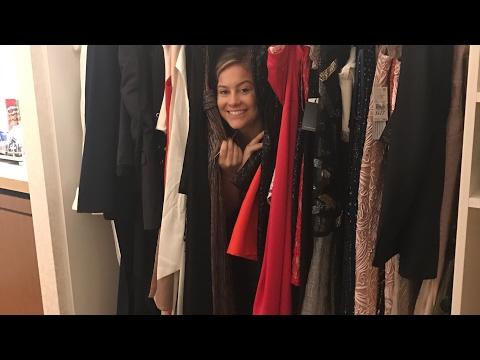 SHOPPING FOR OSCARS RED CARPET DRESS!!   Shawn Johnson