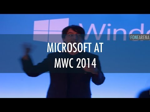 Microsoft at MWC 2014
