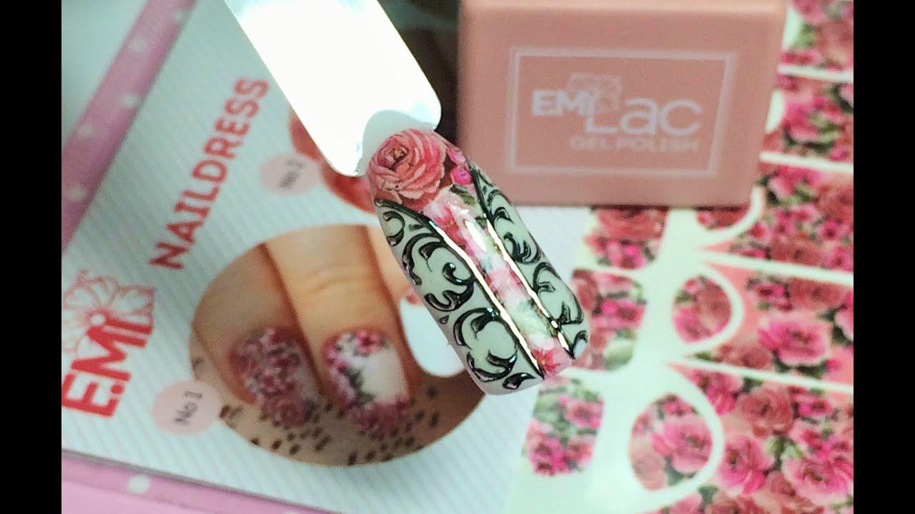 Emi краски для дизайна ногтей