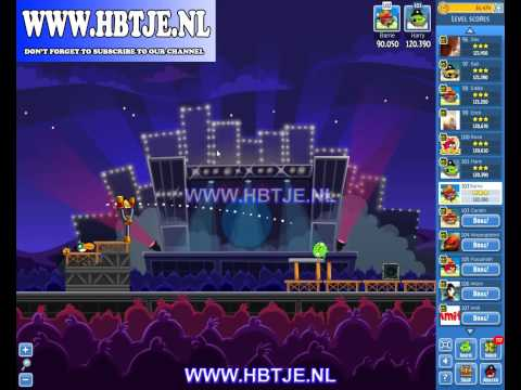 Angry Birds Friends Tournament Week 69 Level 3 high score 125k (tournament 3) Rock in Rio