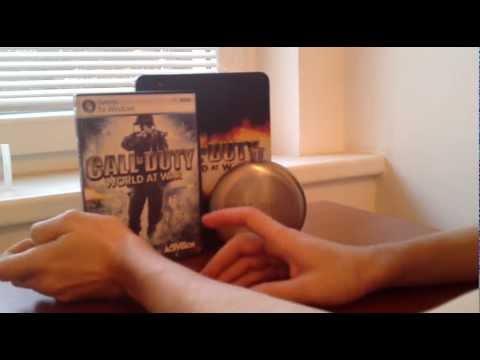 Видеообзор западное коллекционное издание Call of Duty World At War Limited Edition Распаковка / Unboxing