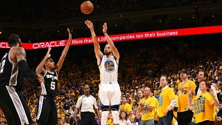 San Antonio Spurs vs Golden State Warriors - Full Highlights | Game 1 | May 14, 2017 | NBA Playoffs